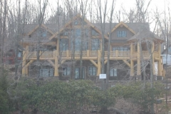 Lakefront Timberframe Home